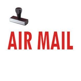 Regular Air Mail Rubber Stamp