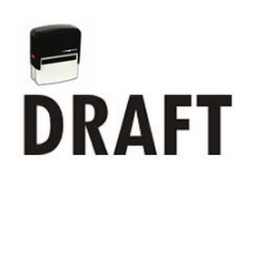 Self-Inking Draft Office Stamp