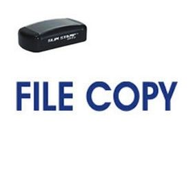 Slim Pre-Inked File Copy Stamp