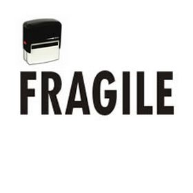Self-Inking Fragile Shipping Stamp