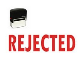 Self Inking Rejected Rubber Stamp