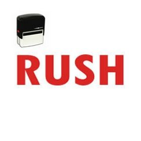 Self-Inking Rush Stamp