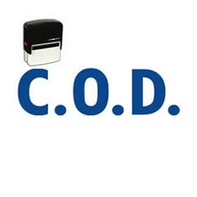 COD Stamp Self-Inking