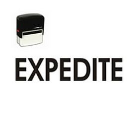 Large Self Inking Expedite Rubber Stamp