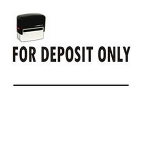 Self-Inking For Deposit Only Stamp