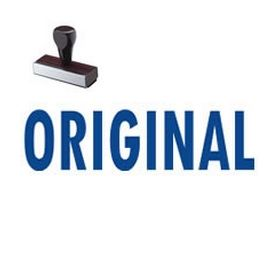 Original Rubber Stamp