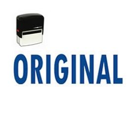 Self Inking Original Rubber Stamp (Large)