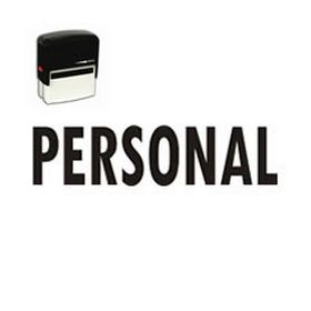 Self-Inking Personal Stamp