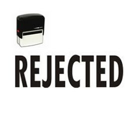 Self-Inking Rejected Stamp