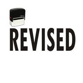 Bold Revised Self Inking Stamp