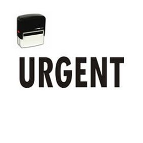 Self-Inking Urgent Stamp