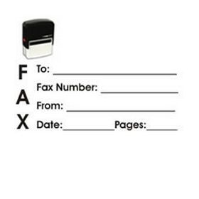 Self-Inking Fax It 1 Stamp