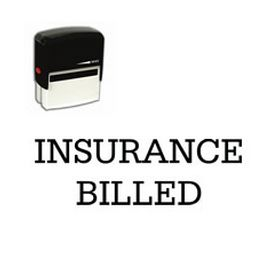 Self-Inking Insurance Billed Medical Stamp