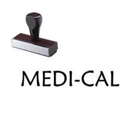 Regular Medi-Cal Rubber Stamp
