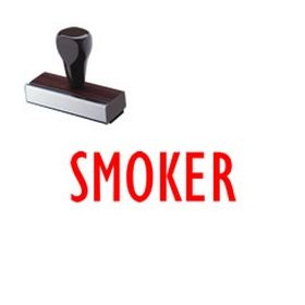 Smoker Medical Rubber Stamp