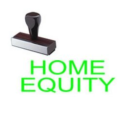 Home Equity Rubber Stamp