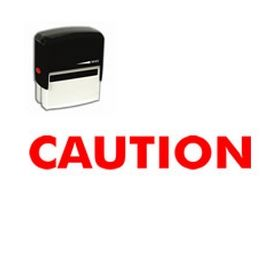 Self-Inking Caution Stamp