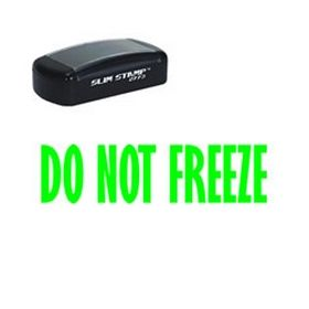 Slim Pre-Inked Do Not Freeze Stamp