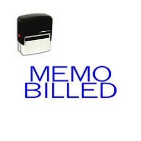 Self-Inking Memo Billed Stamp