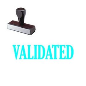 Validated Rubber Stamp