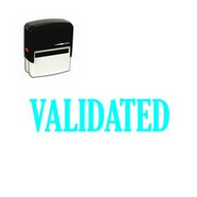 Self Inking Validated Rubber Stamp