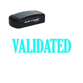 Slim Pre-Inked Validated Stamp