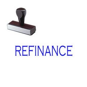 Refinance Rubber Stamp