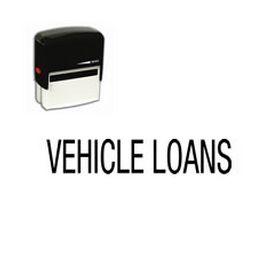 Self-Inking Vehicle Loans Stamp