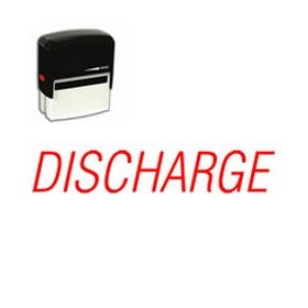 Self Inking Discharge Rubber Stamp