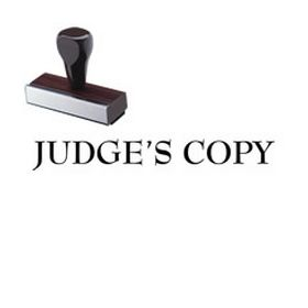 Judges Copy Rubber Stamp