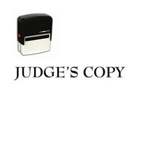 Self Inking Judges Copy Rubber Stamp