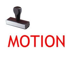 Motion Legal Rubber Stamp