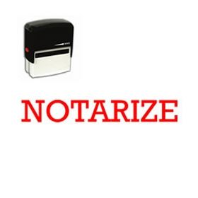 Self-Inking Notarize Stamp
