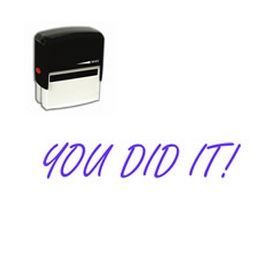 Self-Inking You Did It Stamp