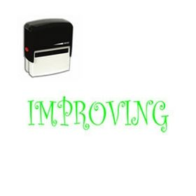 Self Inking Improving Rubber Stamp