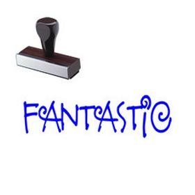 Teacher Grading Fantastic Rubber Stamp