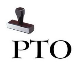 PTO Rubber Stamp