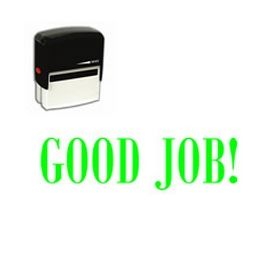 Self-Inking Good Job Stamp