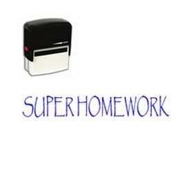 Self-Inking Super Homework Stamp