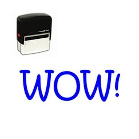 Self Inking Wow! Rubber Stamp