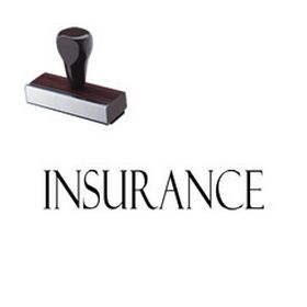 Insurance Rubber Stamp