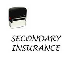 Self-Inking Secondary Insurance Stamp