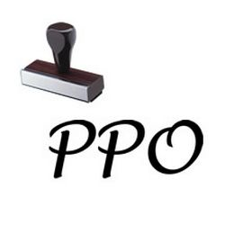 PPO Rubber Stamp