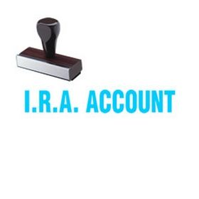 IRA Account Rubber Stamp