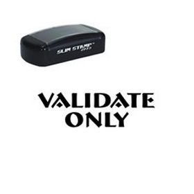 Pre-Inked Validate Only Stamp