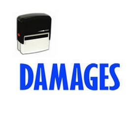 Self-Inking Damages Stamp