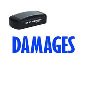 Pre-Inked Damages Stamp