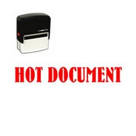 Self-Inking Hot Document Stamp
