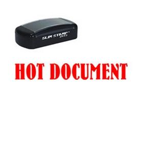 Pre-Inked Hot Document Stamp