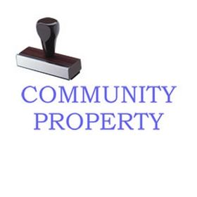 Community Property Rubber Stamp
